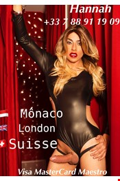 23 year old Female escort GIULLIE TRANS in Monaco